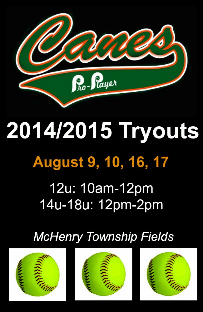 2014/2015 Tryouts | Pro Player Canes Fastpitch
