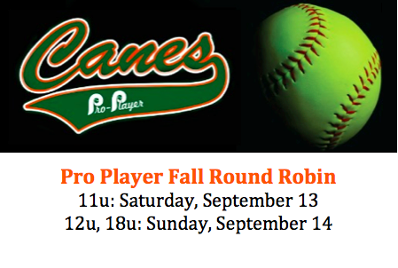 Pro Player Canes Fastpitch | Premier Girl's Fastpitch
